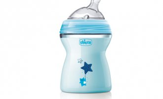 Бутылочка Chicco Natural Feeling PP, 2+, 250 мл, Blue