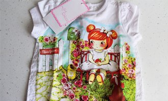 Футболка «My Chicco Garden» из коллекции my first Сhicco.